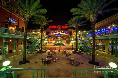 Photograph - Centro Ybor Tampa Florida Historical Sight  by Rene Triay Photography