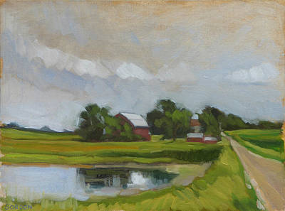 Painting - Century Farm by Kim Gordon