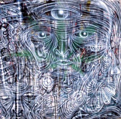 Cephalic Carnage Art Print by Leigh Odom