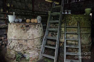Photograph - Ceramic Kilns, In Korond Transylvania by Perry Rodriguez