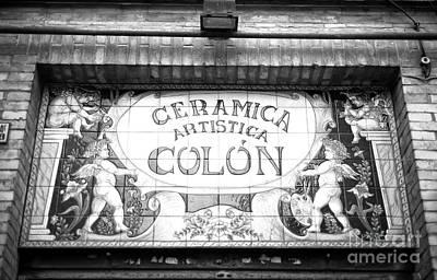 Photograph - Ceramica Artistica Colon by John Rizzuto