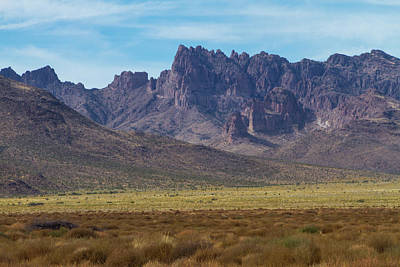 Photograph - Cerbat Mountain Landscape by Bonnie Follett
