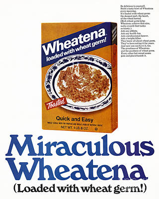 Photograph - Cereal Ad by Granger