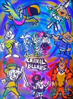 Cereal Killers Art Print by Tony B Conscious