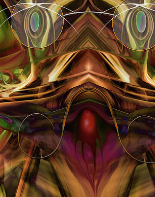 Digital Art - Cerebellun Festival by Steve Sperry