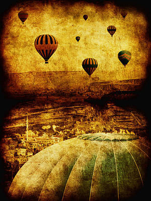 Hot Air Balloon Photograph - Cerebral Hemisphere by Andrew Paranavitana