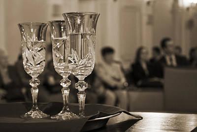 Champagne Photograph - Ceremony by Daniel Csoka