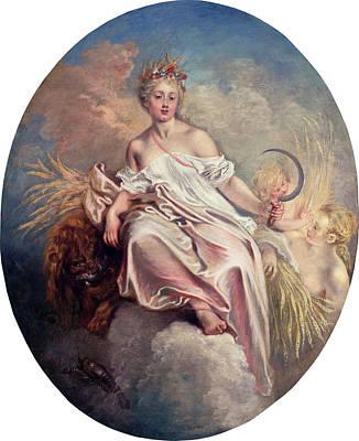 Painting - Ceres by Antoine Watteau