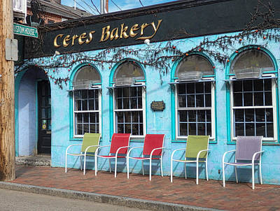 Photograph - Ceres Bakery In Portsmouth Nh by Nancy De Flon