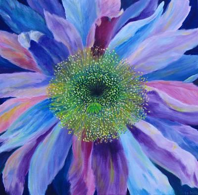 Night Blooming Cereus Painting - Cereusly II by S J Killian