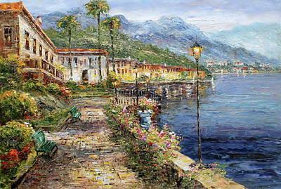 Cernobbio, Lake Como, Italy Original