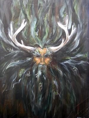 Painting - Cernunnos by Patricia Kanzler