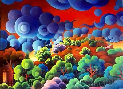 Painting - Cerro Gordo II by Richard Dennis