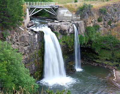 Photograph - Cerro Castillo Waterfall by Kent Nancollas
