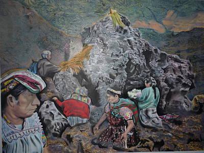 Painting - Cerro Quemado by Luis Carlos A