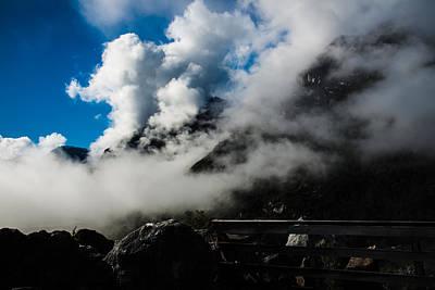 Photograph - Cerro San Valentin by Walt Sterneman