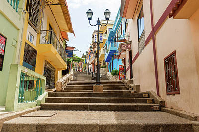 Photograph - Cerro Santa Ana Guayaquil Ecuador by Marek Poplawski