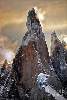 Photograph - Cerro Torre by Bernardo Galmarini