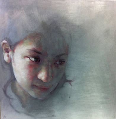 Introspective Painting - Certain by Jennifer Anderson