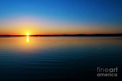 Photograph - Cerulean Sunset by Kelly Nowak