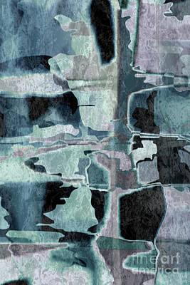 Painting - Cerulean Twist by Tlynn Brentnall