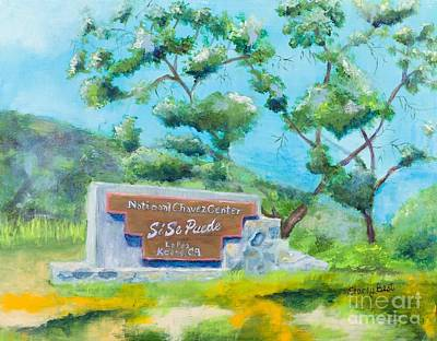 Cesar Chavez Painting - Cesar Chavez National Monument by Stacey Best