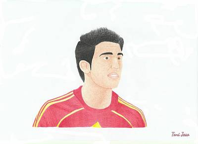 Drawing - Cesc Fabregas by Toni Jaso