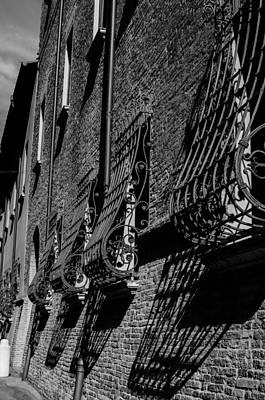 Bicycle Patents - Cesena in Black and White by AM FineArtPrints