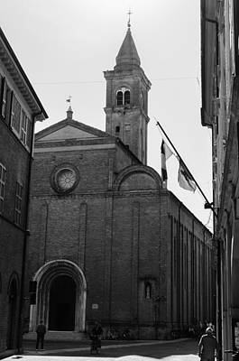 Photograph - Cesena - Italy - The Cathedral 3 by Andrea Mazzocchetti