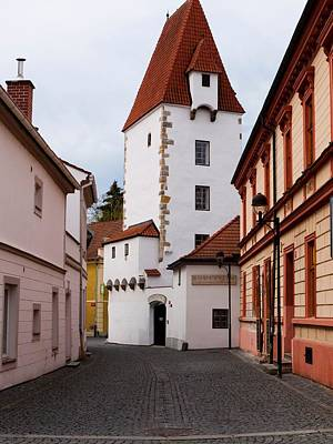 Photograph - Ceske Budejovice Tower by Rae Tucker
