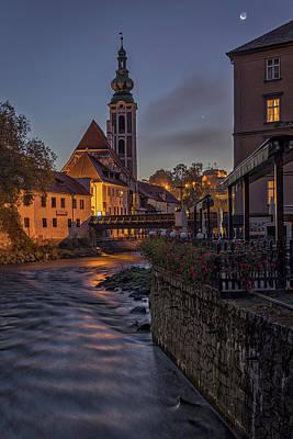 Photograph - Cesky Krumlov Dawn #2 - Czech Republic by Stuart Litoff
