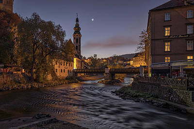 Photograph - Cesky Krumlov Dawn - Czech Republic by Stuart Litoff