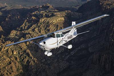 Cessna 172m Art Print