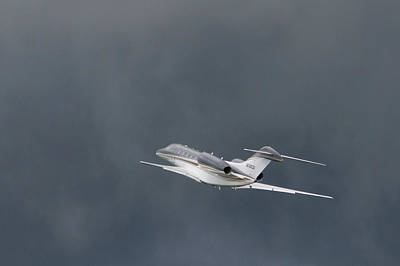 Photograph - Cessna 750  by Guy Whiteley