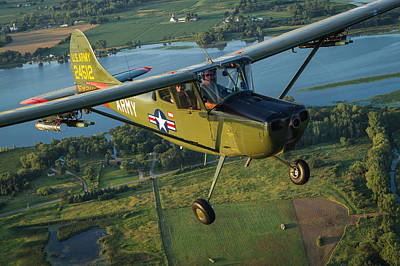 Photograph - Cessna L-19 Bird Dog by Jay Beckman