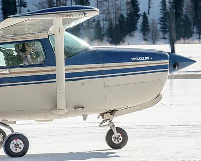 Jet Photograph - Cessna R182 Skylane Hb-clu by Roberto Chiartano