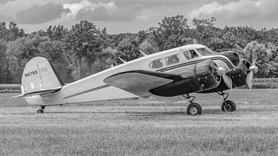 Photograph - Cessna T-50 Mono by Guy Whiteley