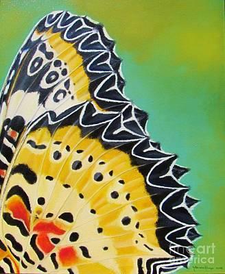Painting - Golden Whisper by Nanda Hoep