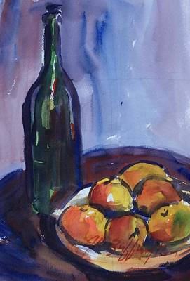 Painting - Cezanne by JULES Buffington