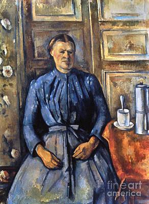 Photograph - Cezanne: Woman, 1890-95 by Granger