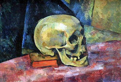 Photograph - Cezanne's Still Life With Skull by Cora Wandel