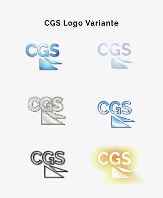 Painting - Cgs Logo Variante Color by Bogdan Floridana Oana