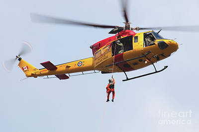 Ch-146 Griffon Of The Canadian Forces Art Print by Timm Ziegenthaler