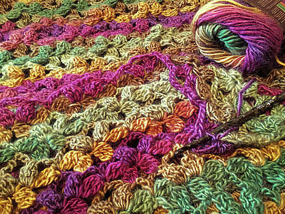 Tapestry - Textile - Ch 3, 2 Tr Cl In Sc by Susan Maxwell Schmidt