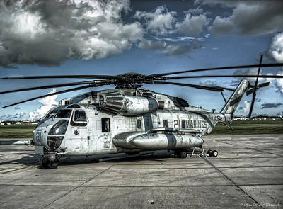 Ch-53 Super Stallion Art Print