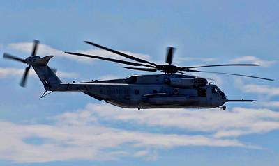 Ch-53d Sea Stallion - 2 Art Print by Tommy Anderson