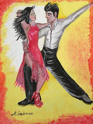 Painting - Cha Cha by Mimi Eskenazi