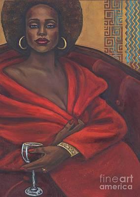 Painting - Chablis by Alga Washington