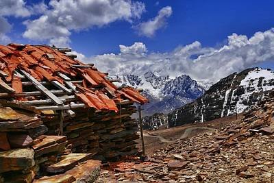 Photograph - Chacaltalya Climb To 17800 Feet 18 by Skip Hunt