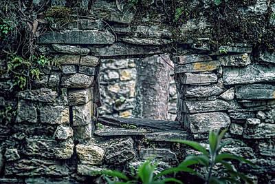 Photograph - Chachapoya Stone Window by Jaime Quiroz Tirado